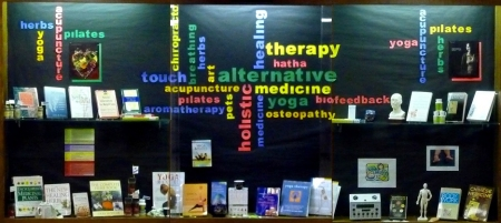 alternative medicine display