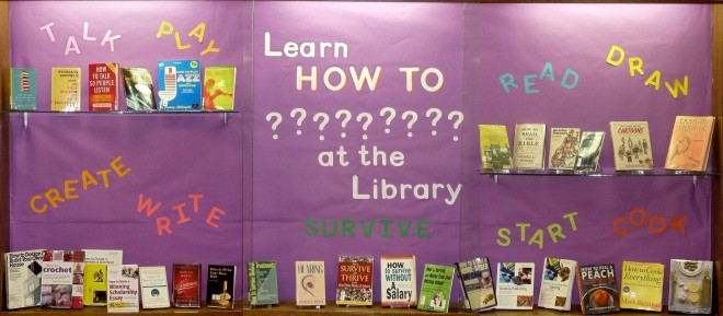 Learn HOW-TO ??????? at the Library