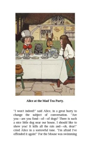 Alice in Wonderland sample page from EBL