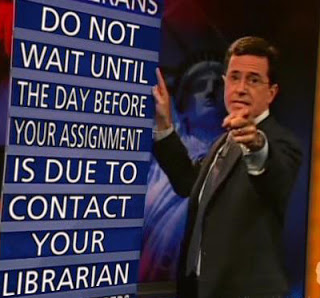 Advice from Stephen Cobert