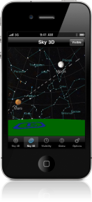 planets on phone