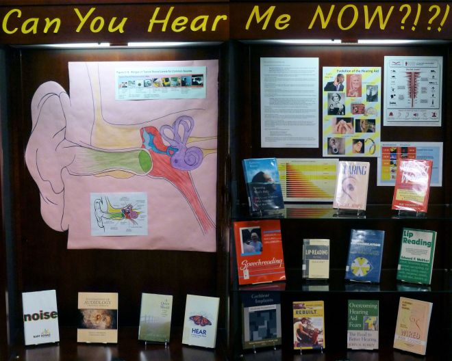 Display about Hearing Loss