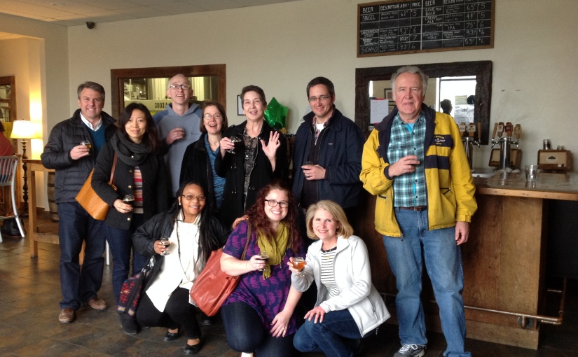Library Staff Meets Hardywood